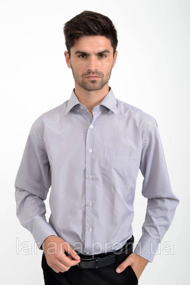 Рубашка  9#LS цвет Серо-белый