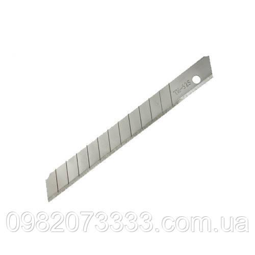 Лезвия Olfa SS (1шт) Размер: 9х80 мм. Из нержавеющей стали, подходит при работе во влажной среде