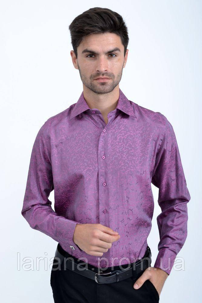 Рубашка Pas 888-1 цвет Сиреневый