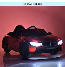Детский электромобиль BMW i8 Bambi  JE1001EBLR-3 красный