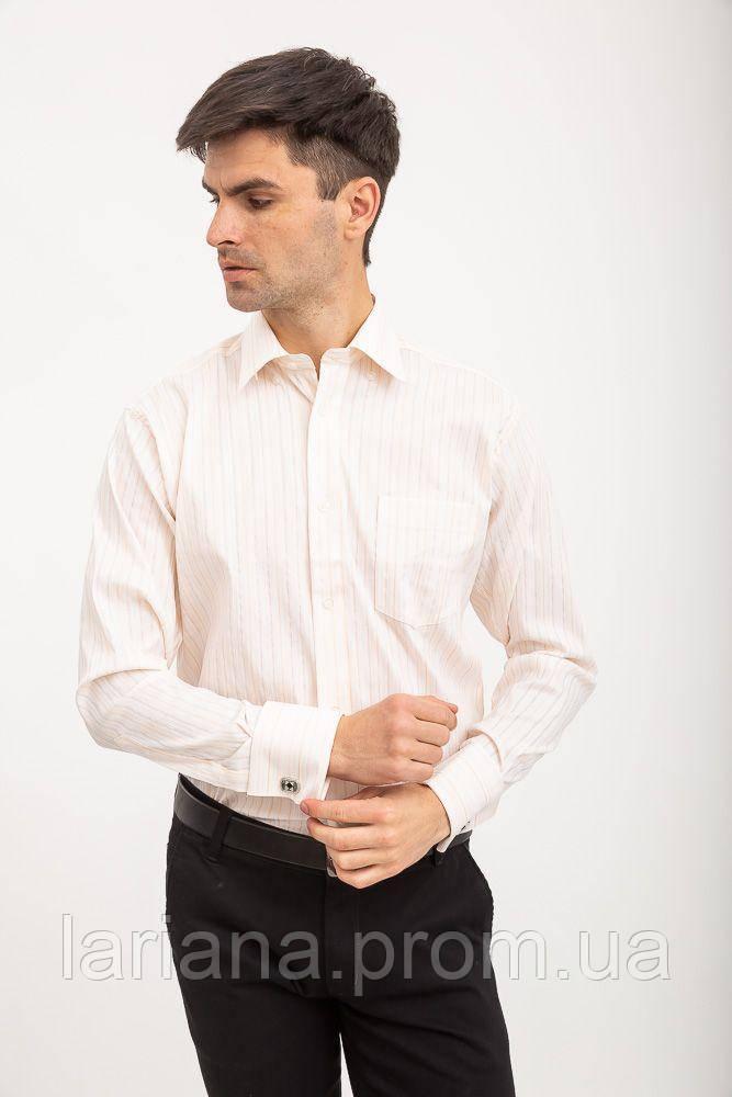 Рубашка 515-3 цвет Персиковый