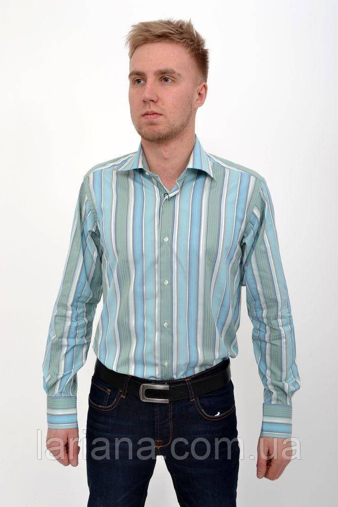Рубашка 50PD24001 цвет Оливковый