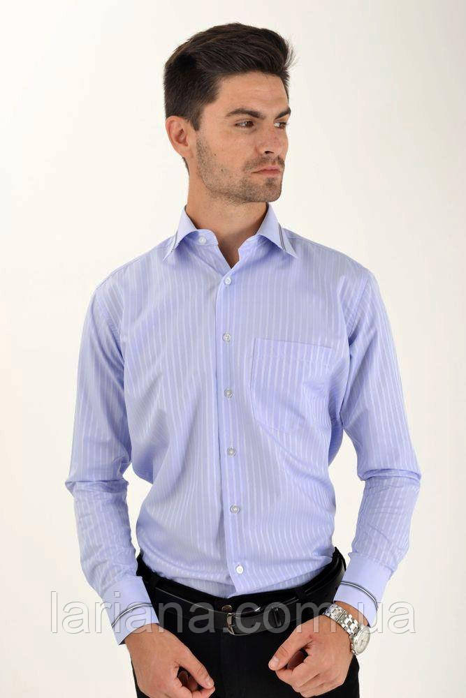 Рубашка 5-9060-5 цвет Сиреневый