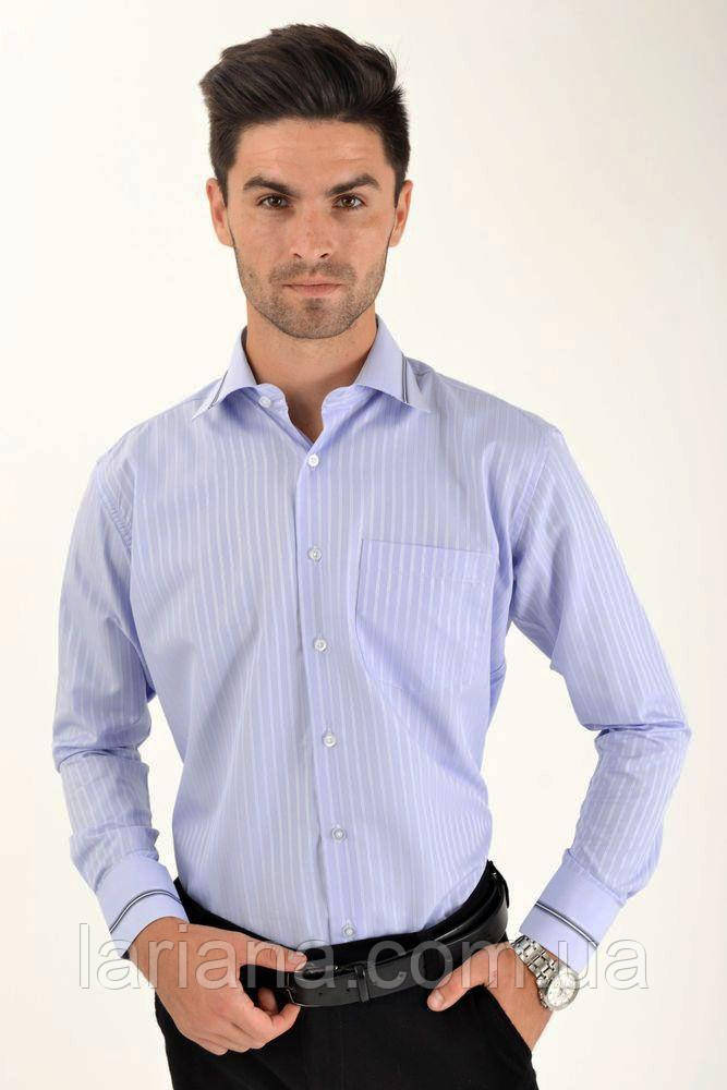 Рубашка 5-9060-17 цвет Голубой