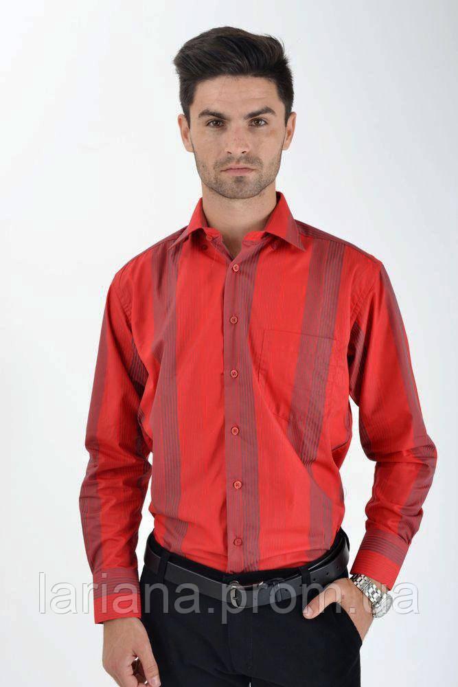 Рубашка 4387-6 цвет Красный