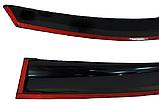 Дефлектор на окна PERFLEX HONDA CIVIC 2007-2012 FD4-HD08, фото 3