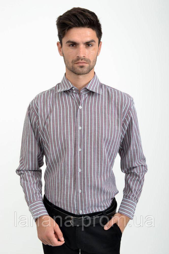 Рубашка 24#LS цвет Вишневый