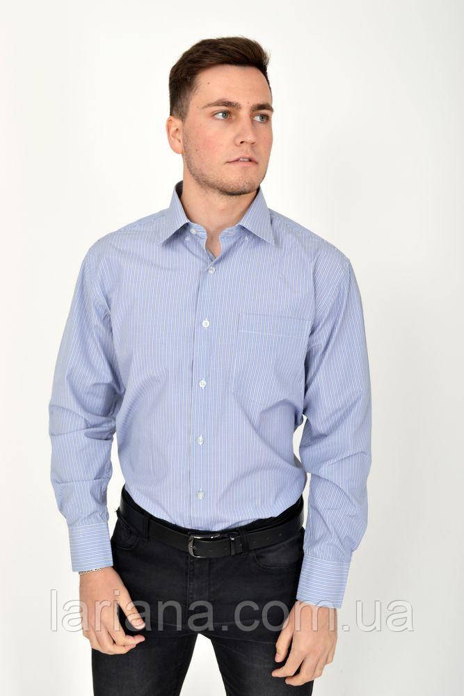 Рубашка 17#LS цвет Сиреневый