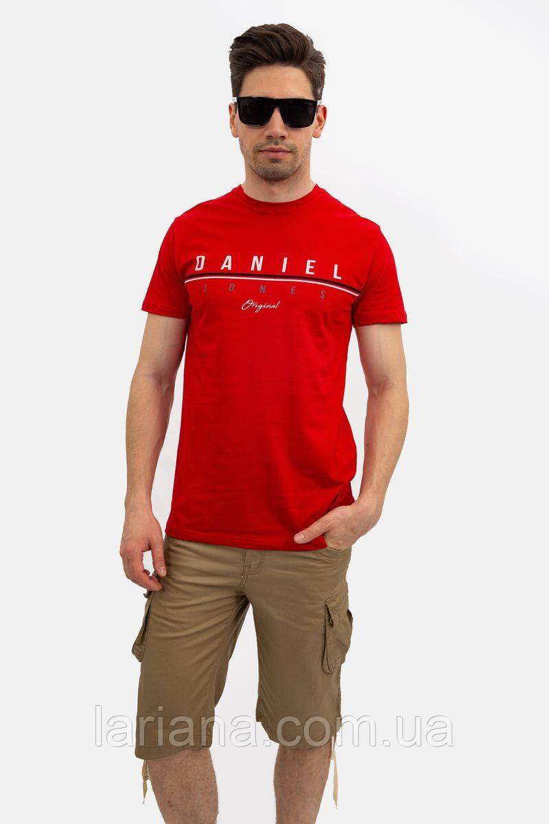 Футболка мужская 145R003 цвет Красный
