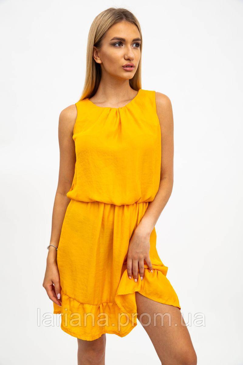 Платье женское 119R290 цвет Горчичный