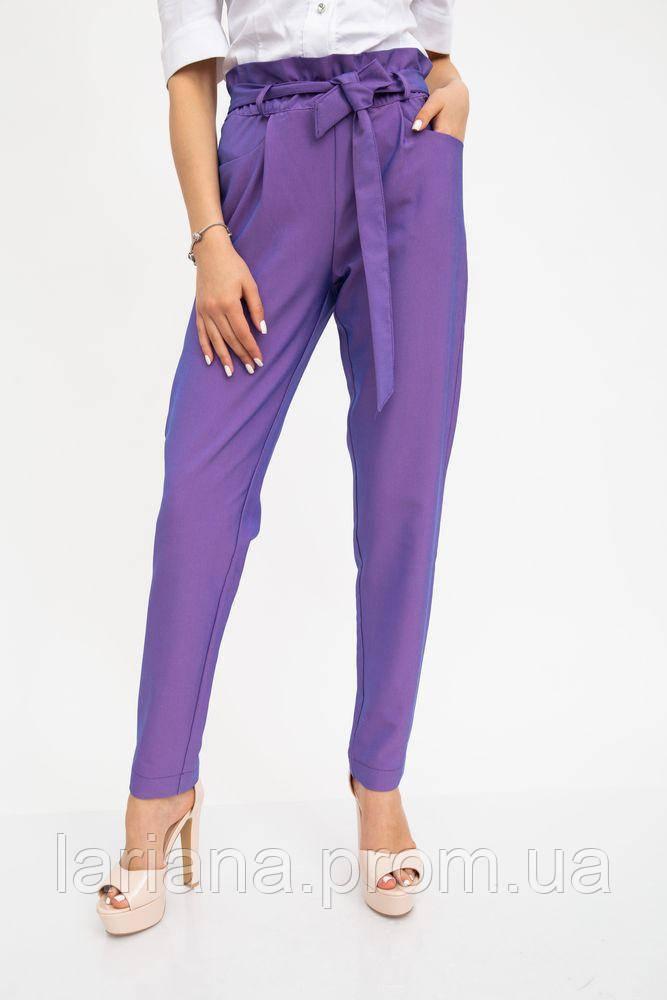 Брюки женские 115R350F цвет Фиолетовый