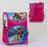 Рюкзак школьный Моана C 36167, спинка ортопедическая, 3 кармана, ножки пластиковые