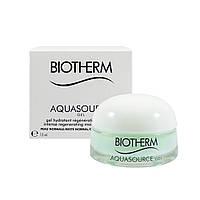 Гель для интенсивного увлажнения и восстановления кожи Biotherm Aquasource Gel миниатюра 15ml (3614272021402)