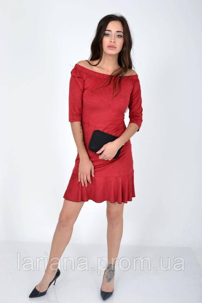 Сукня жіноча 115R276 колір Червоний