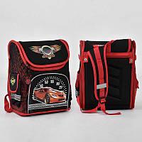 Рюкзак шкільний ТМ Grizzly, ортопедична спинка м'яка, каркасний портфель