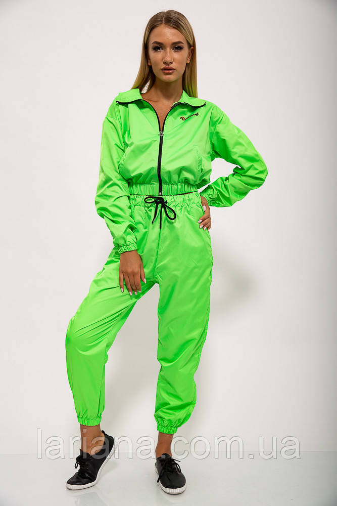 Спорт костюм женский 103R2006 цвет Салатовый