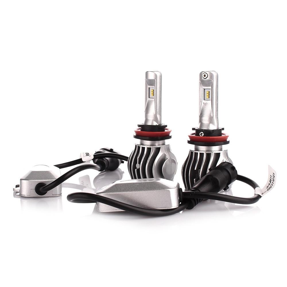 LED лампа SOLAR H11 12/24V 6500K 6000Lm 50W Cree Chip 1860 CANBUS 8611