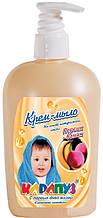 Крем-мыло детское Karapuz Персик-Банан 400мл