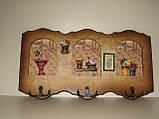 Панно с крючками, 34х18 см, Оригинальные подарки, Днепропетровск, фото 5