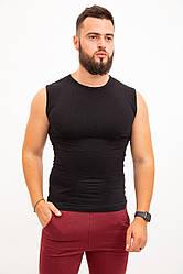 Майка спорт.мужская 117R067 цвет Черный