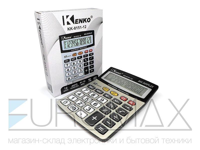Калькулятор 1xAA 60шт CAL-8151-12