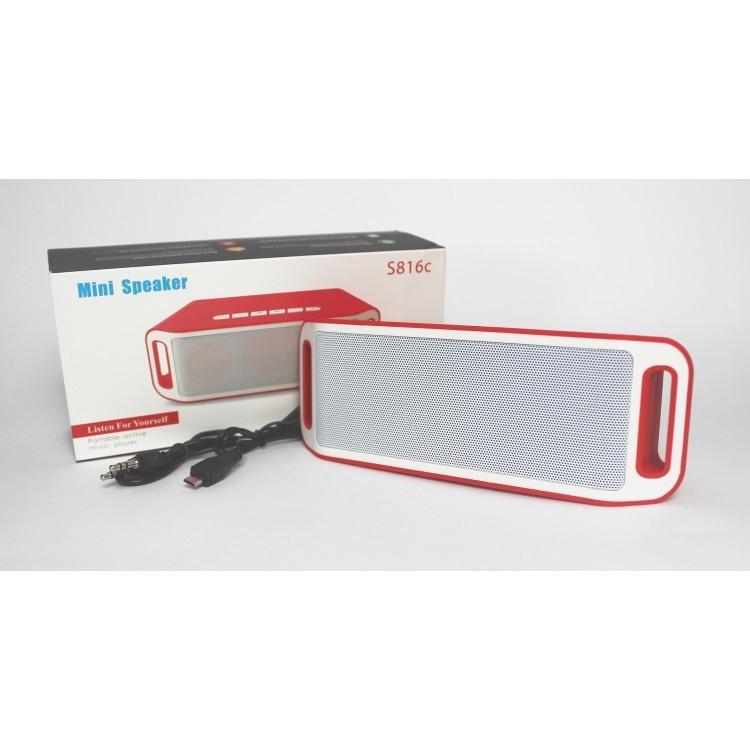 Оригинальная портативная акустическая колонка JBL со встроенным микрофоном USB, SD, FM, Bluetooth S816C