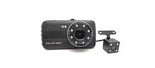 Видеорегистратор в авто + (камера заднего вида) DVR Dual Lens(2 камеры) Full HD