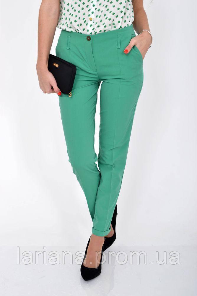 Штани жіночі 115R48-26 колір Зелений