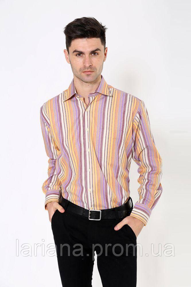 Рубашка 113RPia29 цвет Желто-фиолетовый