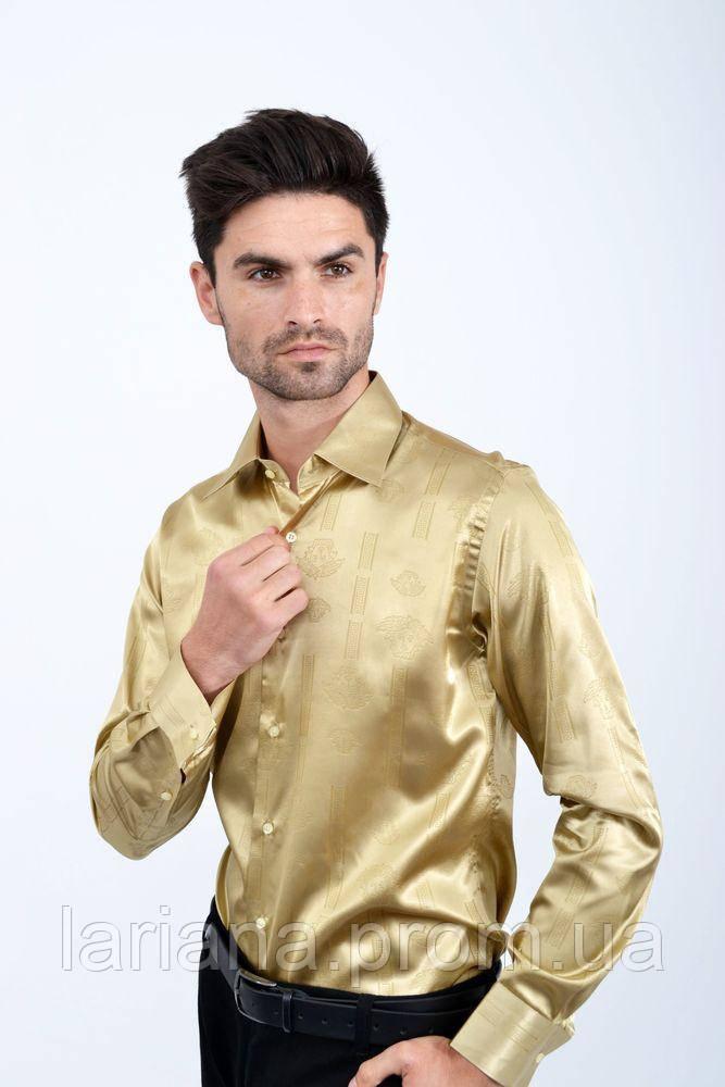 Рубашка 113RPass003 цвет Шампань