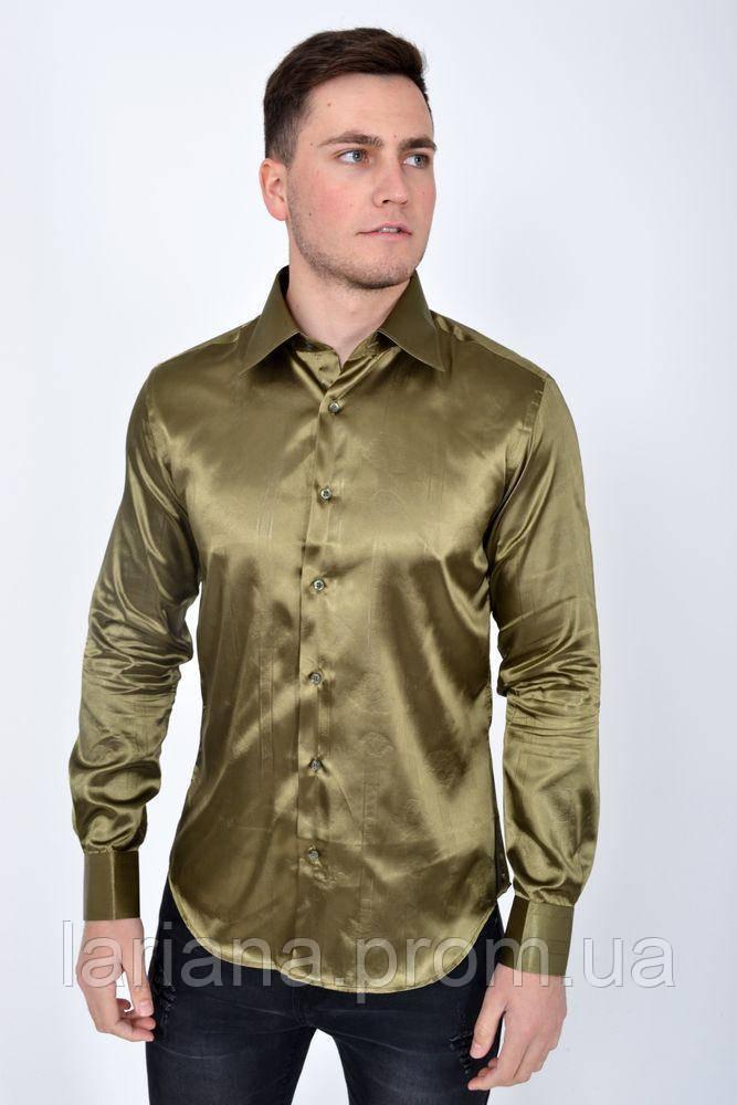 Рубашка 113RPass003 цвет Хаки