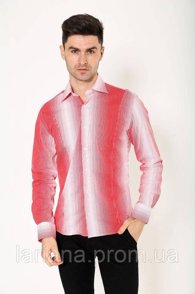 Рубашка 113RNP001 цвет Красно-белый