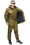 Костюм демисезонный тактический Горка 3 Шнайдер флис олива хаки, фото 6
