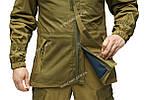 Костюм демисезонный тактический Горка 3 Шнайдер флис олива хаки, фото 7