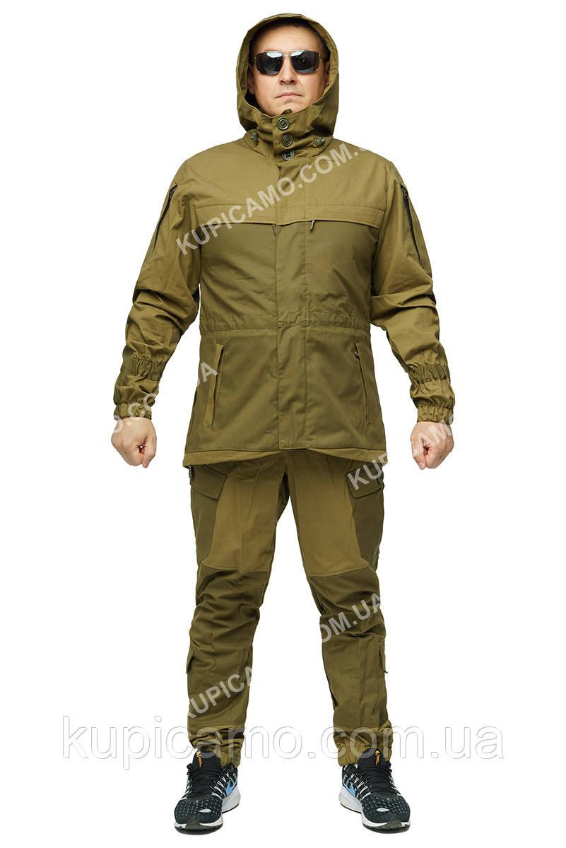 Костюм демисезонный тактический Горка 3 Шнайдер флис олива хаки