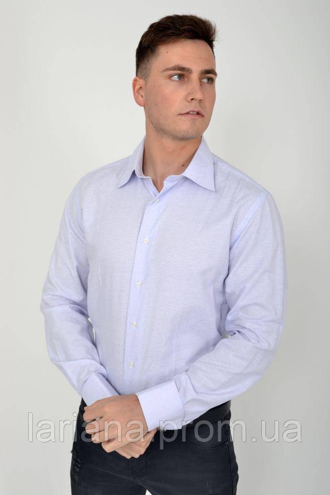 Рубашка 113R002 цвет Голубой
