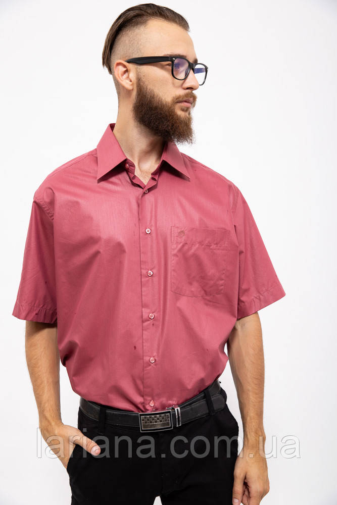 Рубашка 113R001 цвет Темно-лиловый