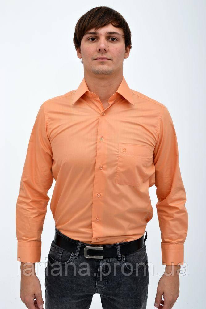 Рубашка 113R001 цвет Персиковый