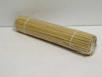 Бамбуковые Палочки для шашлыка (100шт) 25см 2.5mm (1 пач)