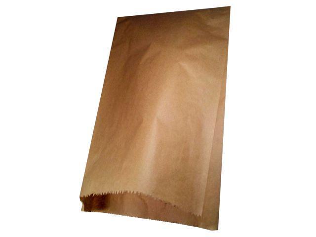Пакет паперовий крафт 22см 38см коричневий ящ 1000 шт