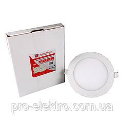 LED панелі EH-LMP-1272 кругла 4100К /Ø 170мм/12W/1080Lm /120°
