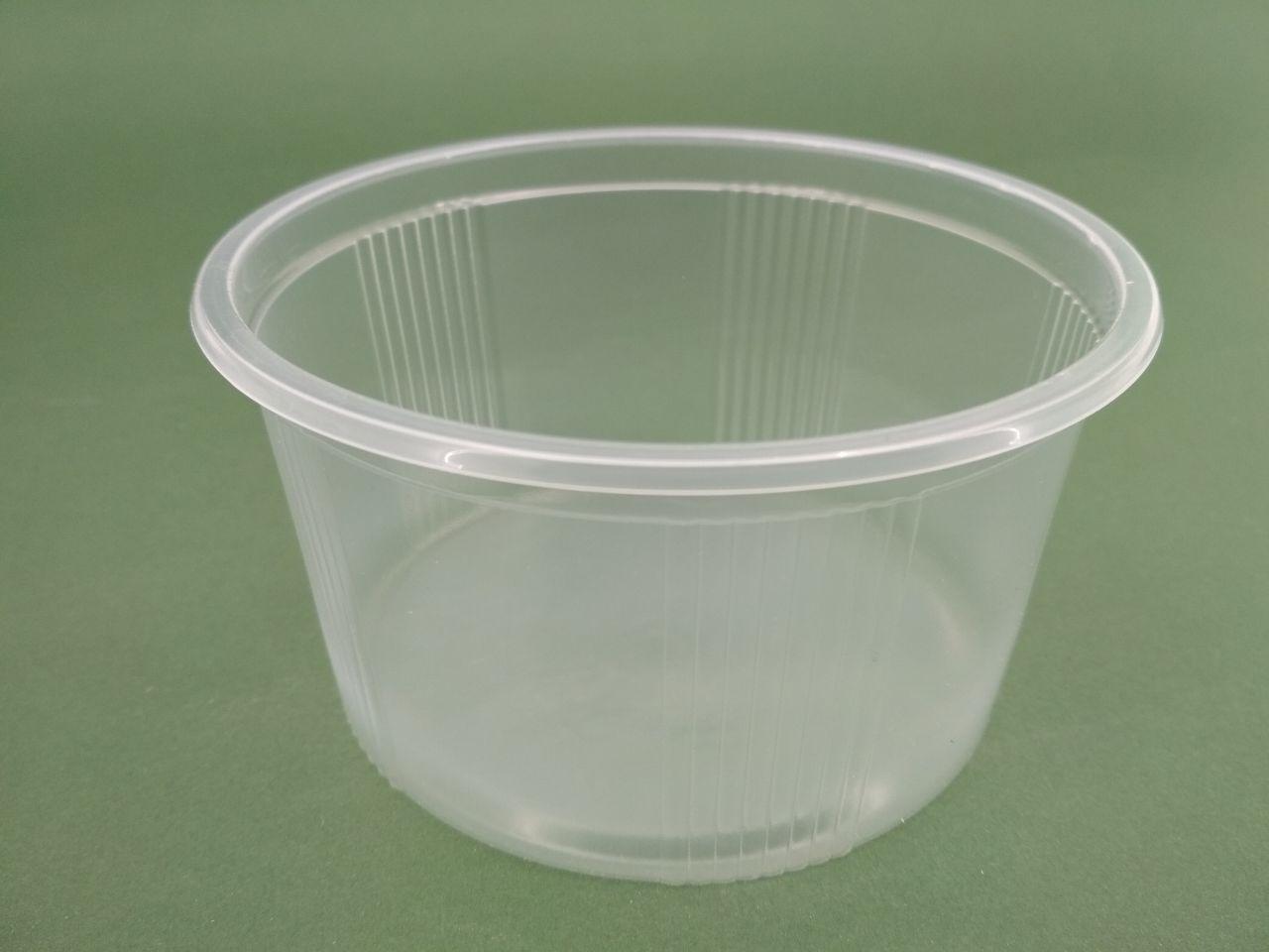 Ємність поліпропіленова кругла(для рідкого і гарячого) ЕМ-110058 -350мл (50 шт)