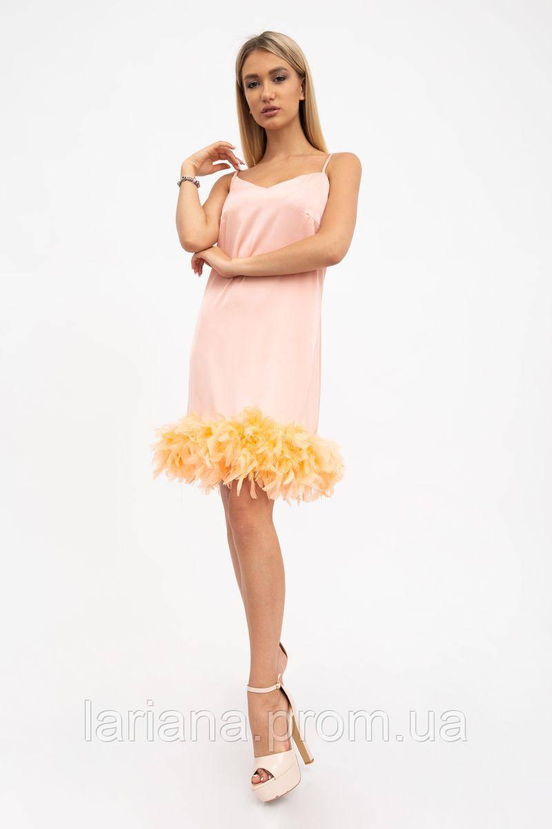 Платье женское 104R161 цвет Пудровый
