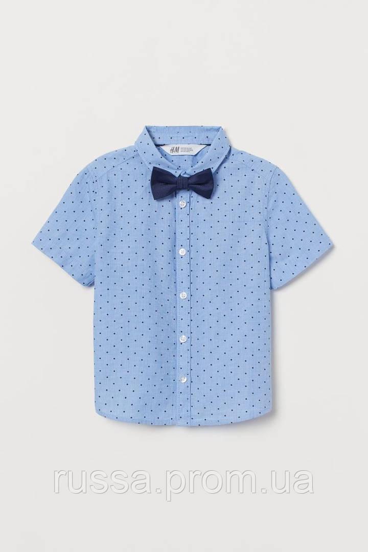 Нарядная детская тенниска с галстуком-бабочкой НМ для мальчика