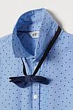 Нарядная детская тенниска с галстуком-бабочкой НМ для мальчика, фото 2
