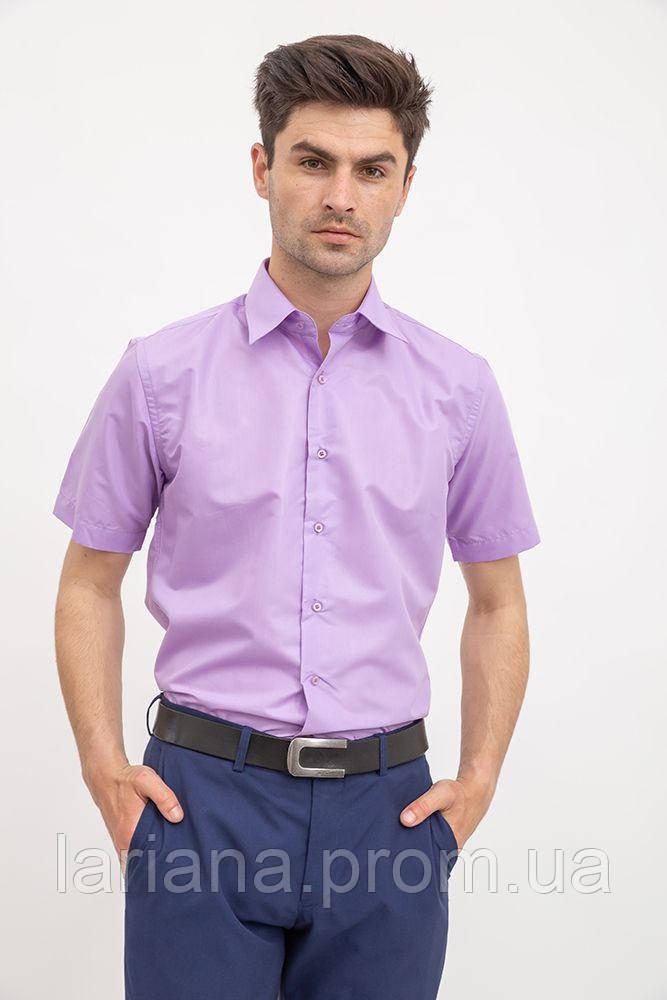 Рубашка мужская 103RMB058W цвет Сиреневый