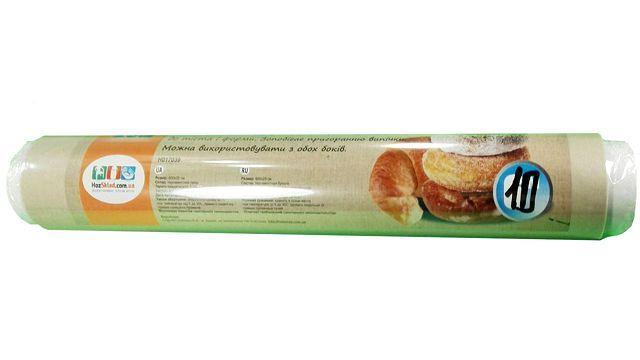Папір для випічки 10м 29см коричнева Віват