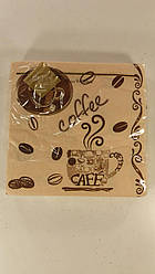 Салфетки столовые (ЗЗхЗЗ, 20шт) Luxy  Кофе(170) (1 пач)