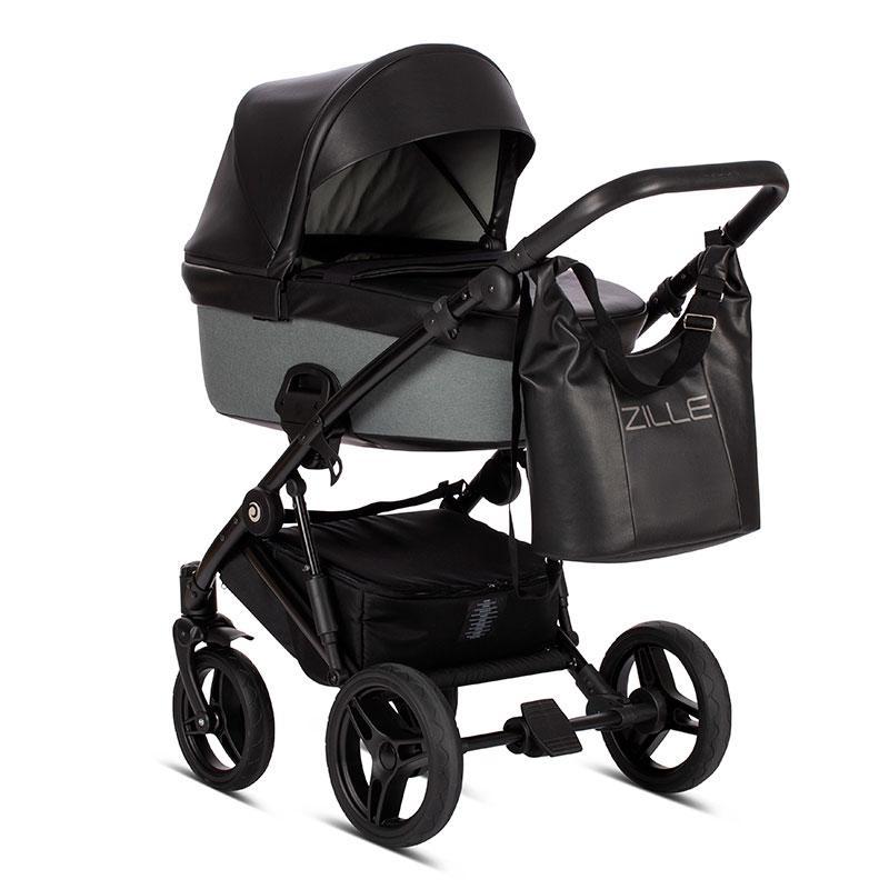 Детская универсальная коляска 2 в 1 Tutis Zille Black Forest/214