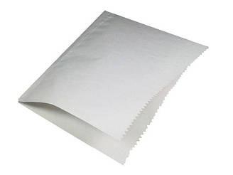 Крафт паперовий пакет з V-подібним дном 17см 17см білі 2000 шт